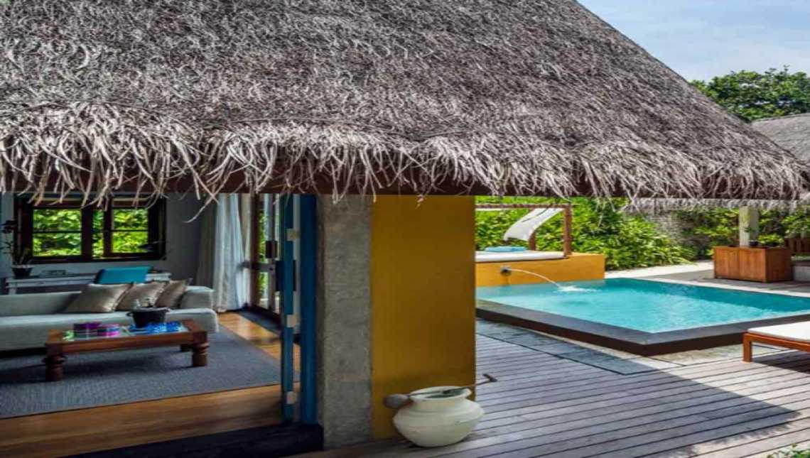 Beach Bungalow with Pool