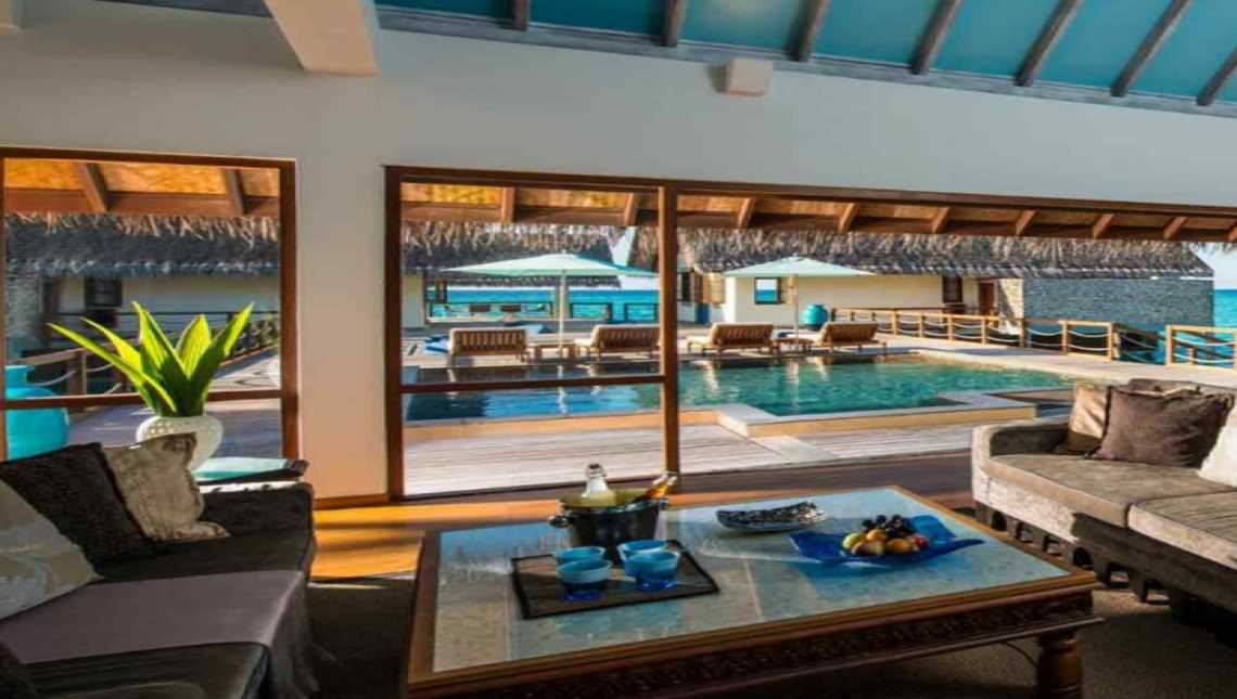 Two-Bedroom Land and Ocean Suite