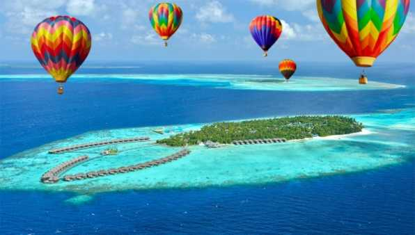 Maldives To Hold The First Hot Air Balloon Festival