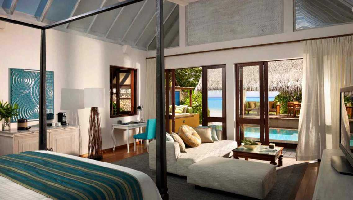 Two-Bedroom Family Beach Bungalow with Pool