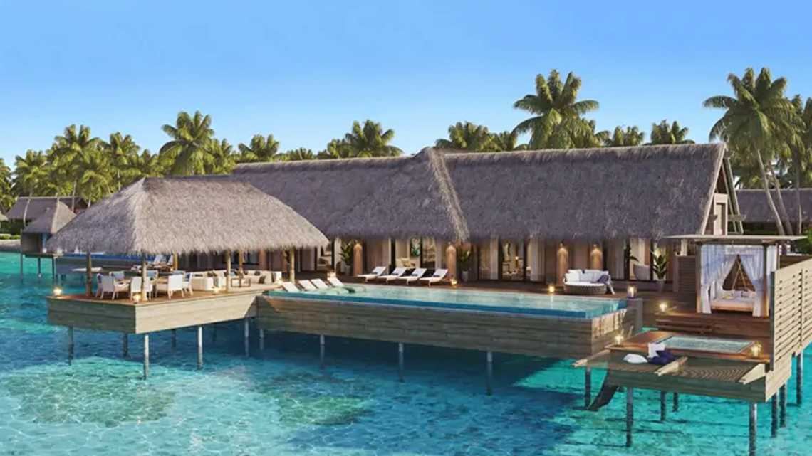 Two Bedroom Overwater Villa With Pool
