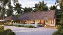 Two Queen Bedded Grand Beach Villa Pool