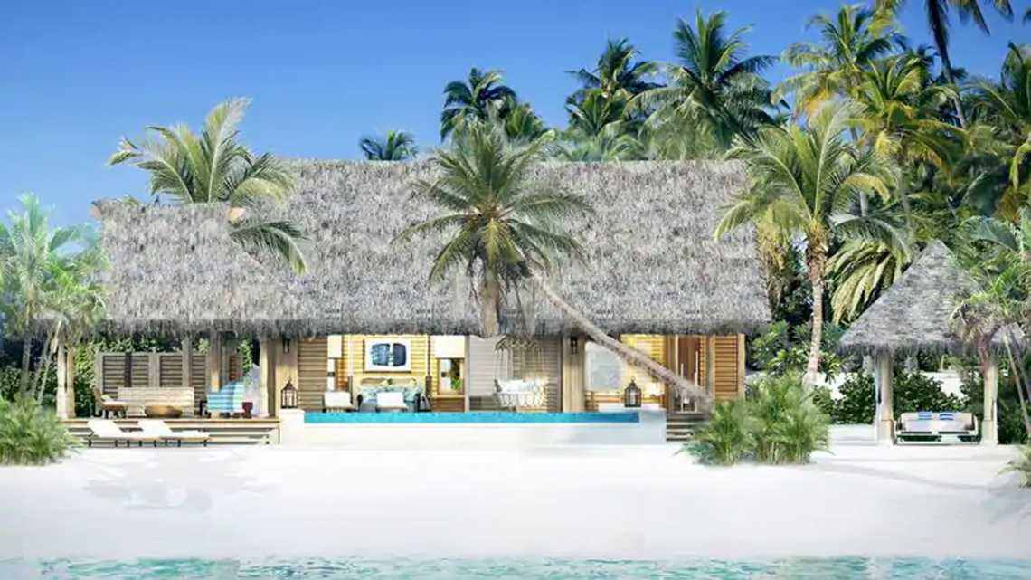 Two Queen Bedded Grand Overwater Villa W/pool