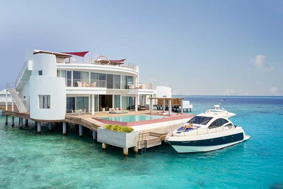Lux* Overwater Retreat (3 Bedrooms with Pool)