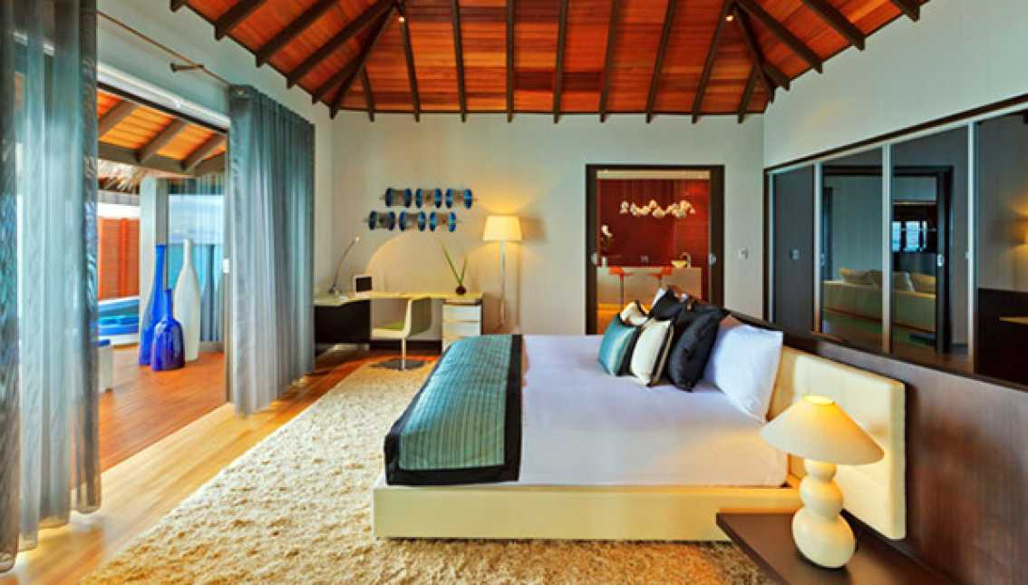 Each Villa and Bungalow provides the following amenities
