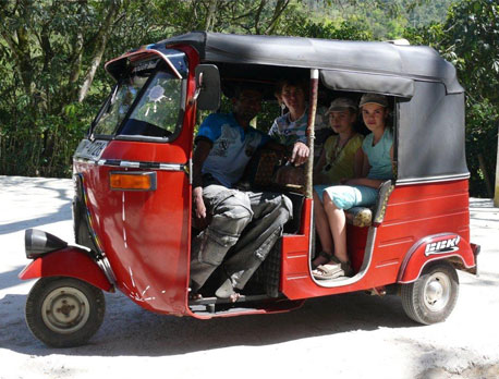 THREE-WHEELER (TUK TUK)