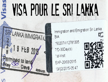 DO I NEED A VISA BEFORE I ARRIVE IN SRI LANKA?